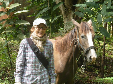 Johanne and Ayla - Equine therapy