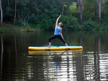 SUP yoga retreat - Love of Nourishment - practice