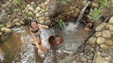 Yoga Retreat - plant bath - Tambo Ilusion