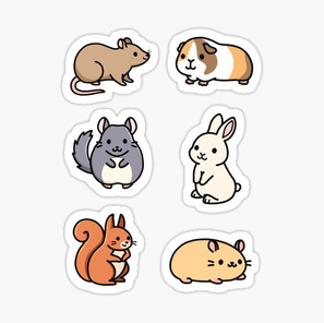 Cute Animal Sticker Pack 3