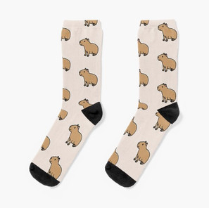 Capybara Socks