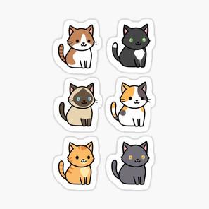 Cat Sticker Pack