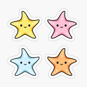 Starfish Sticker Pack