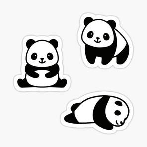 Panda Sticker Pack