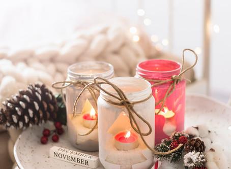 DIY candle jar