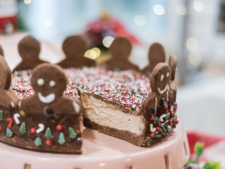 Gingerbread man cheesecake - bez želatine