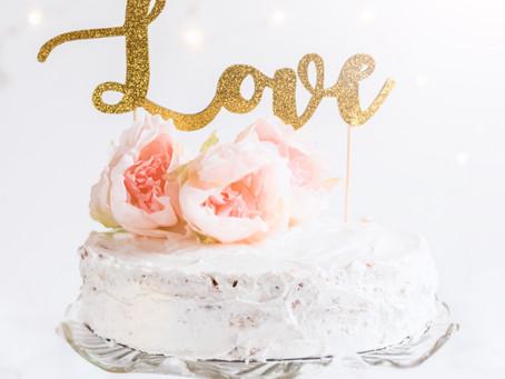 "DIY ""Love"" cake"