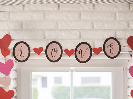 Valentinovska dekoracija - besplatan PDF