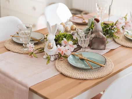 Uskršnja dekoracija stola