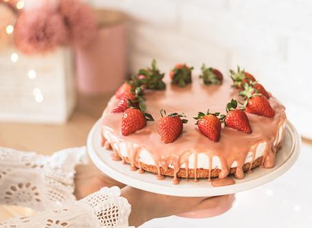 Ruby cheesecake sa jagodama