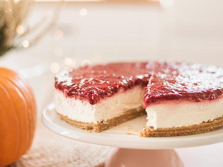 Voćni cheesecake bez želatine