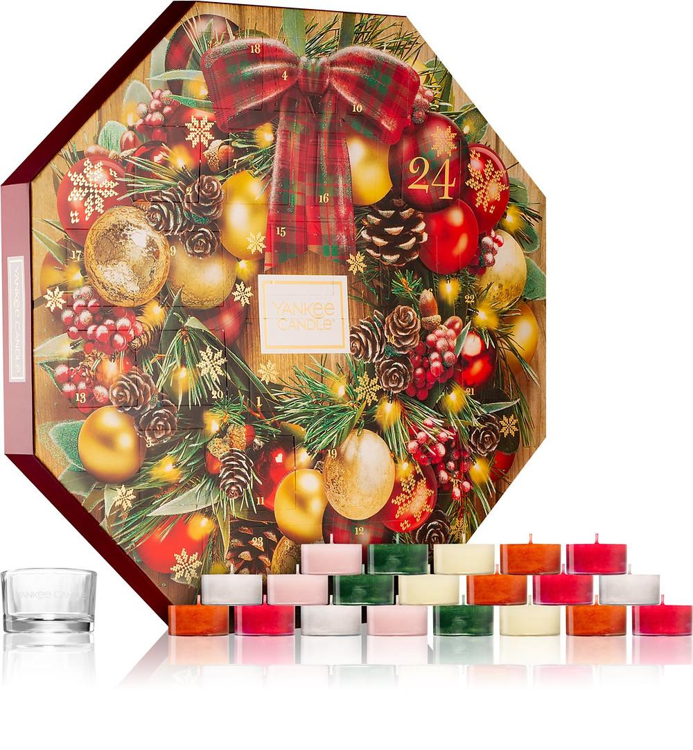 Yankee Candle Alpine Christmas adventski kalendar - Notino i ledaboss