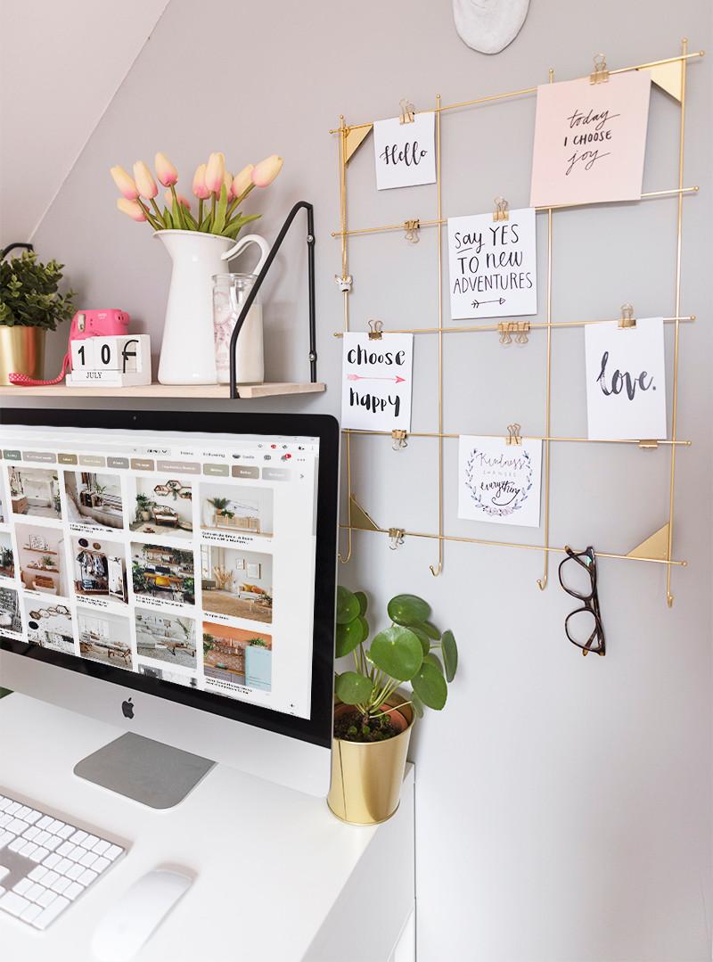 radni prostor, inspiracija za radni stol, imac, apple,uređenje doma, interijeri