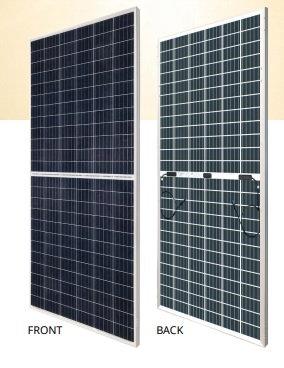 Solární bifaciální panel Canadian solar 365Wp POLY stříbrný rám