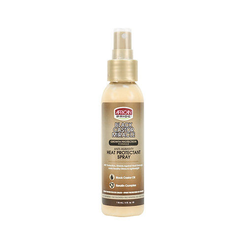 African Pride Black Castor Miracle Heat Protestant Spray