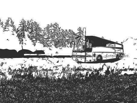 Rozdział II - Autobusem do wolności.
