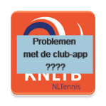 Bericht KNLTB: Lukt inloggen op de club=app niet????