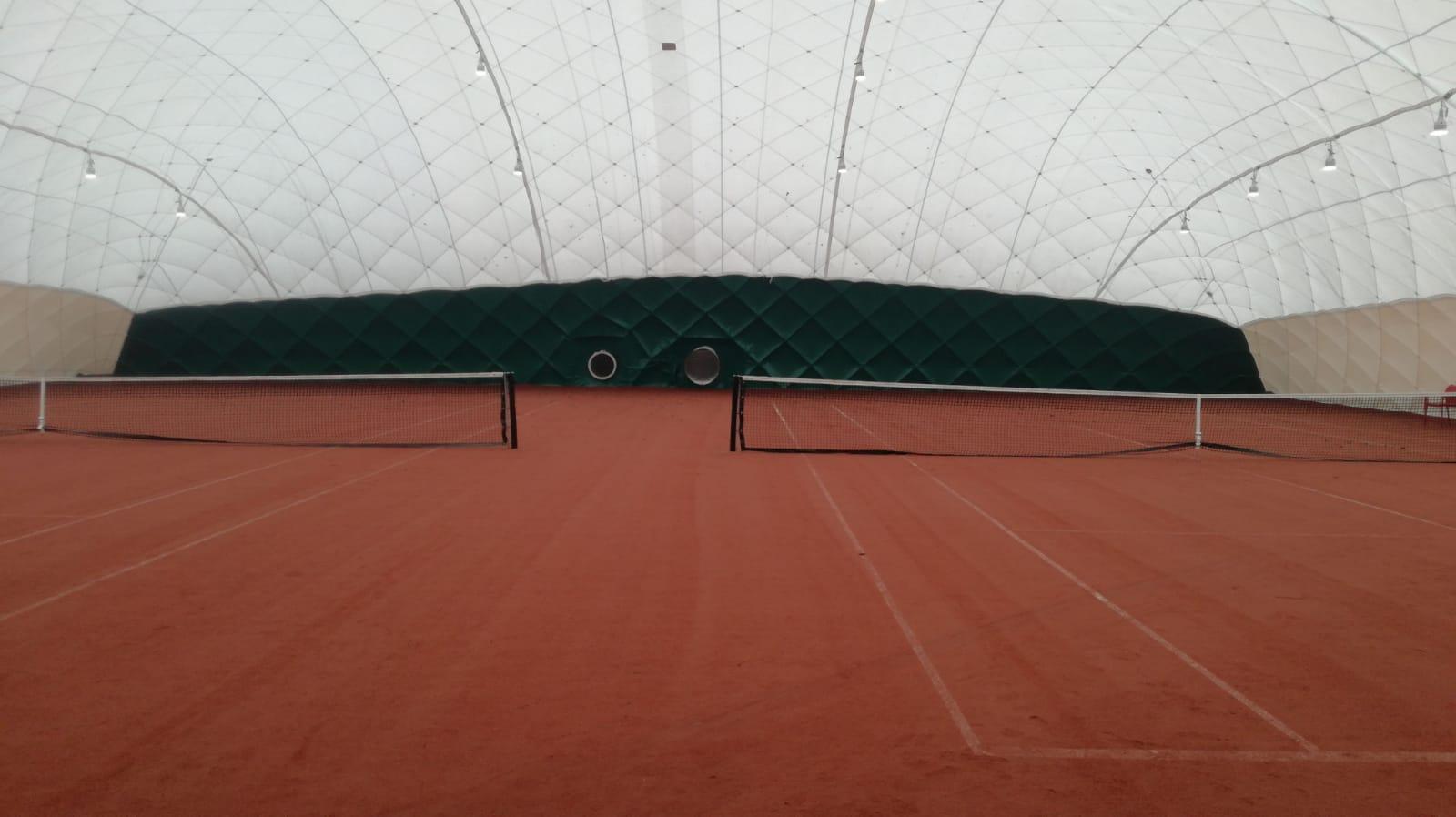 En dan hier het mooie plaatje van de nieuwe hal