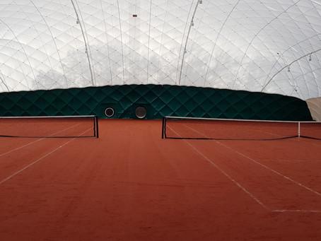 Nieuwe hal vandaag in gebruik