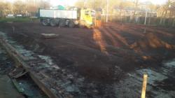 015 vrachtwagens voor de afvoer van het gravel
