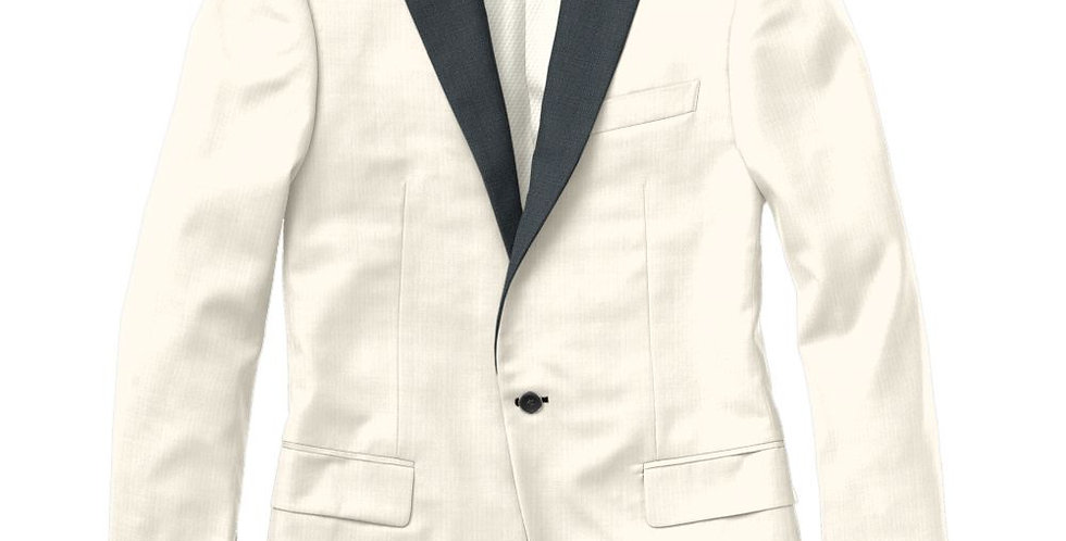 Debonair Houndstooth White Peak Tuxedo