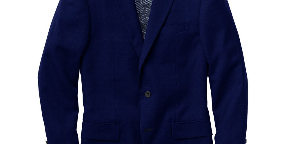 Deboniar Navy Velvet Notch Jacket