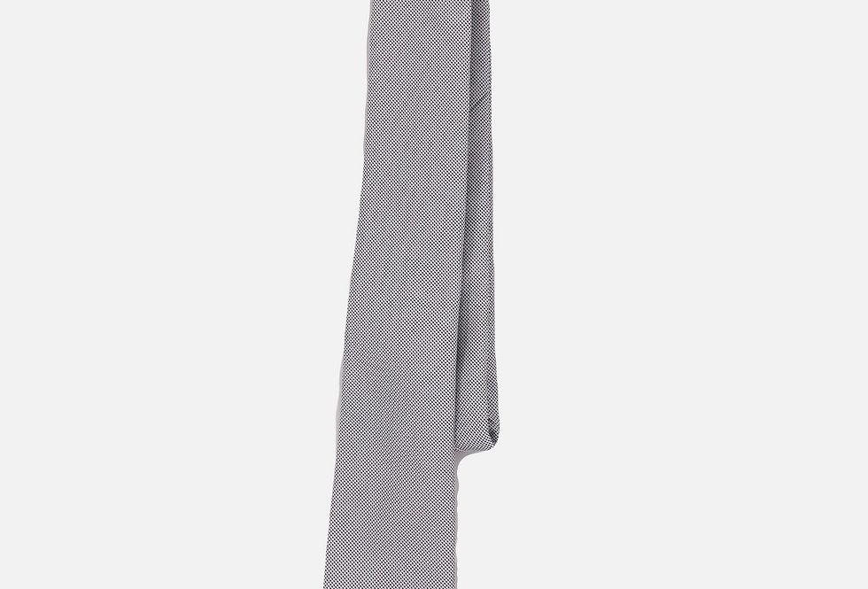Pin Dot Platinum Neck Tie
