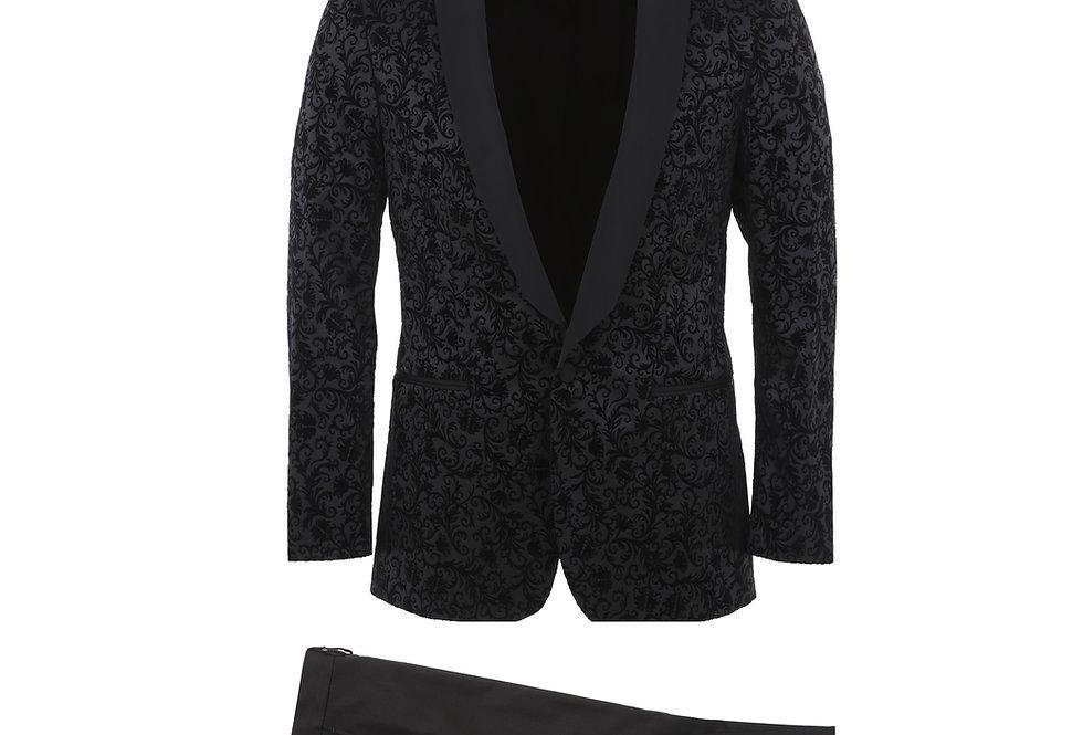 Patterned Shawl Tuxedo