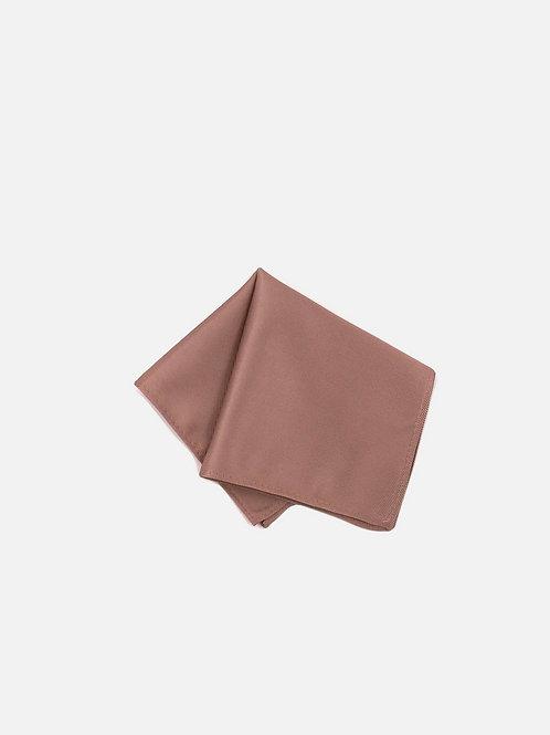 Solid Rose Gold Pocket Sqaure