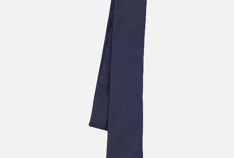 Pin Dot Navy Neck Tie