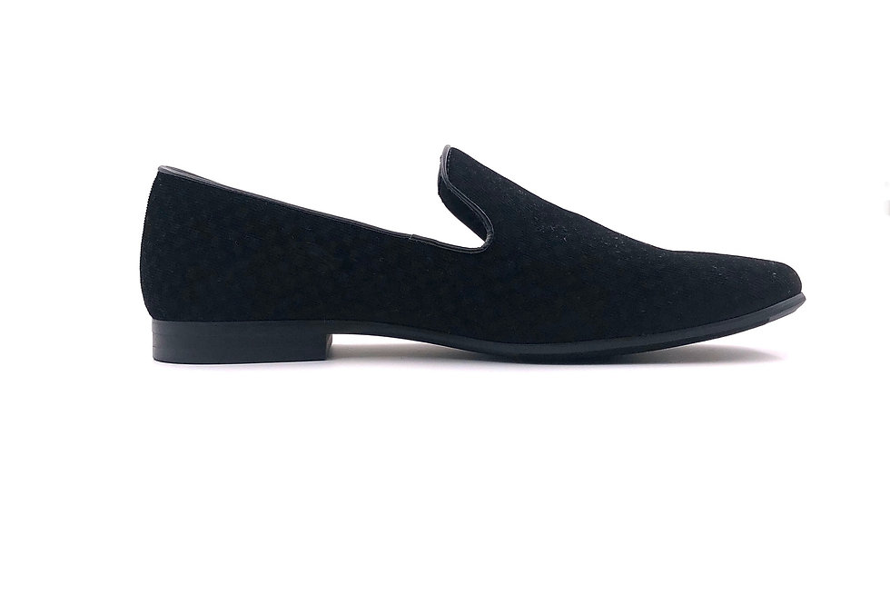Black Cloak Slip Ons