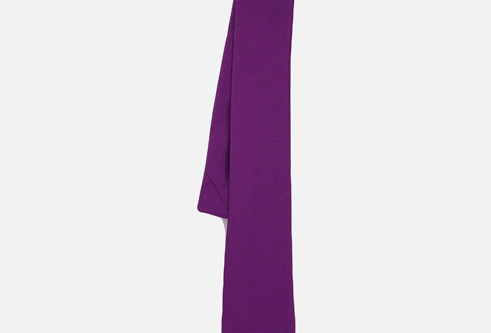 Solid Purple Neck Tie