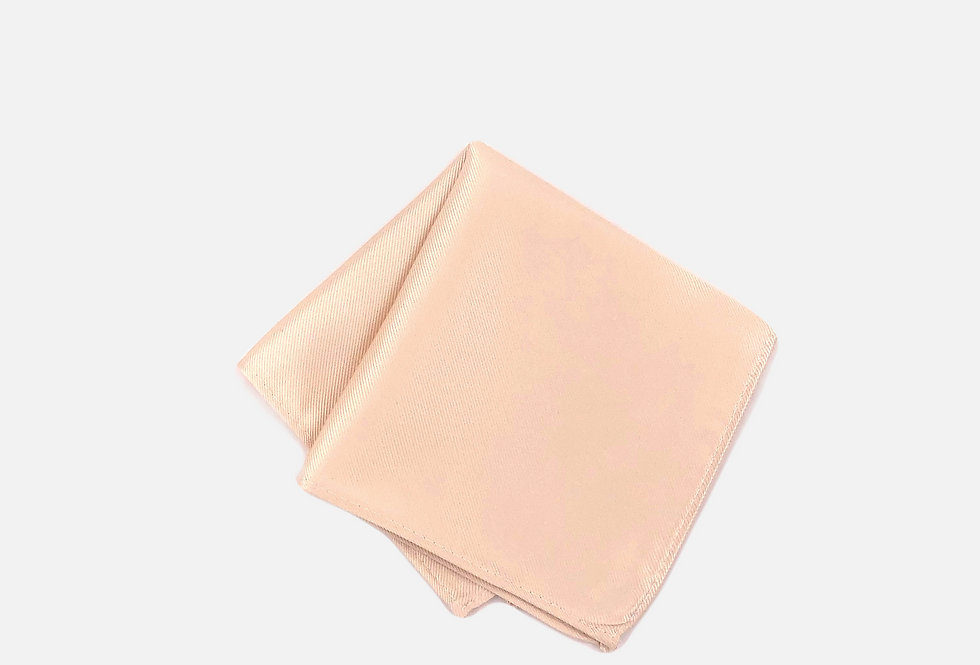Solid Blush Pocket Square