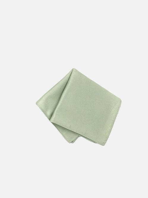 Solid Sage Green Pocket Square