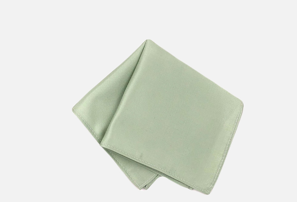 Solid Sage Green Pocket Square