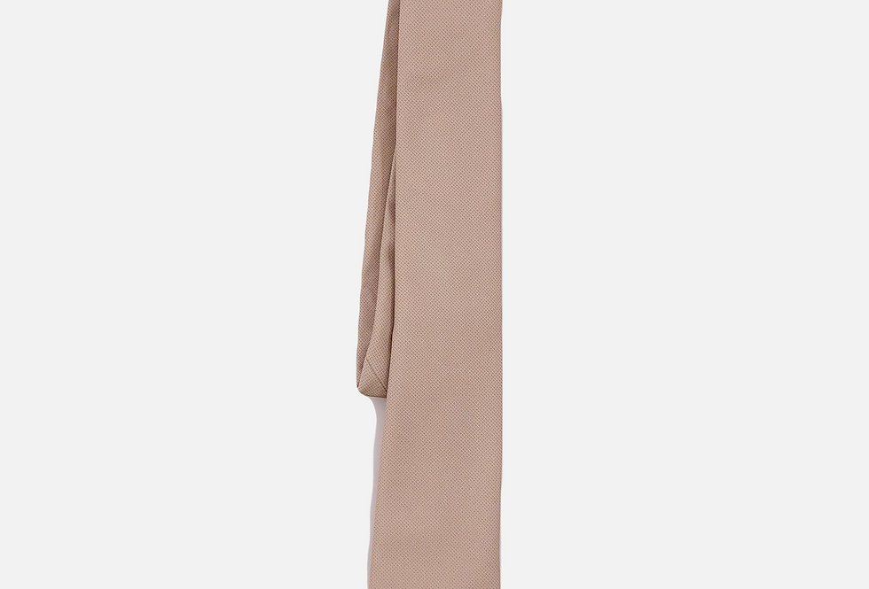 Pin Dot Palomino Neck Tie