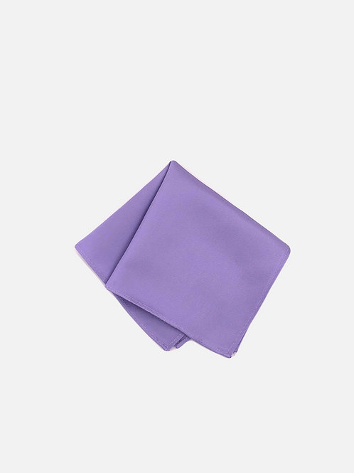 Solid Lilac Pocket Square