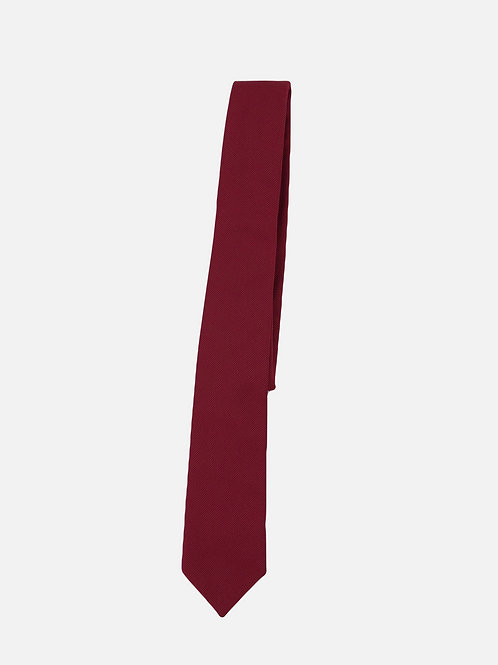 Pin Dot Red Neck Tie