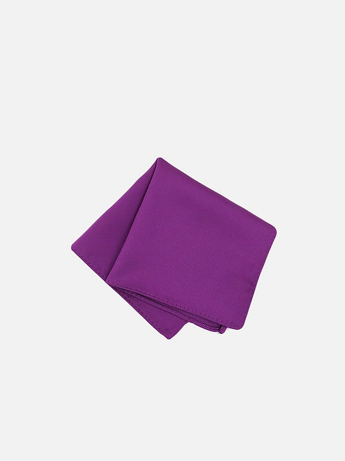 Solid Purple Pocket Square