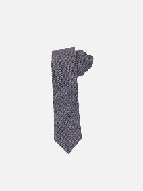 Pin Dot Grey Neck Tie