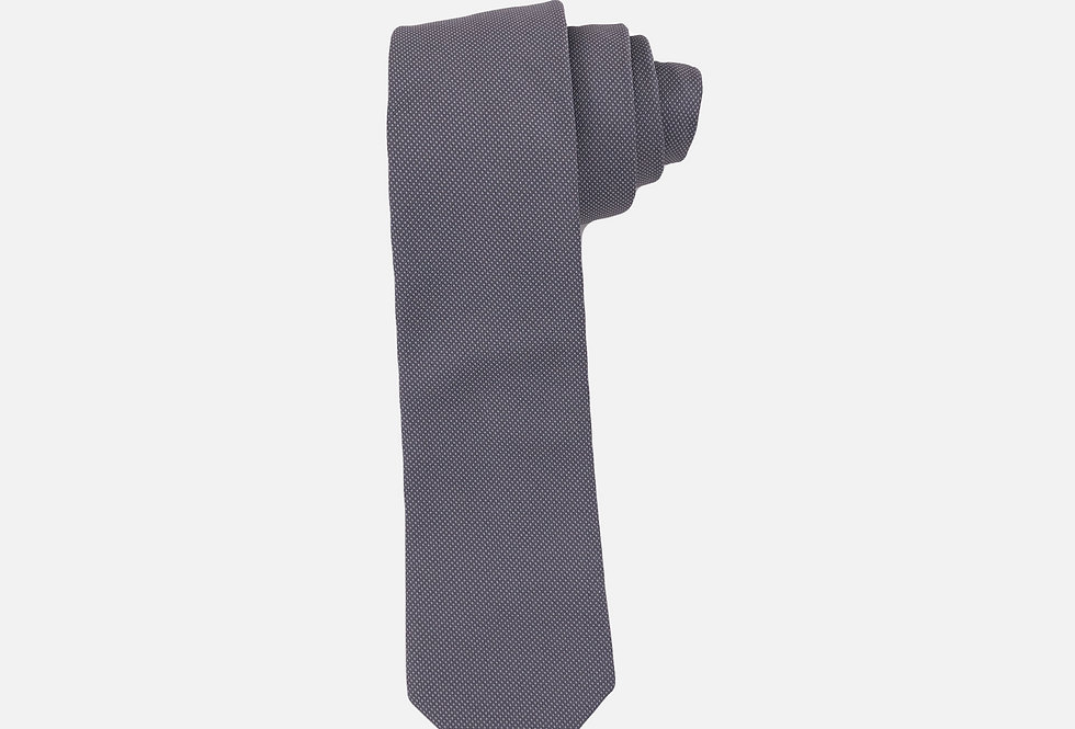 Pin Dot Grey Neck Tie