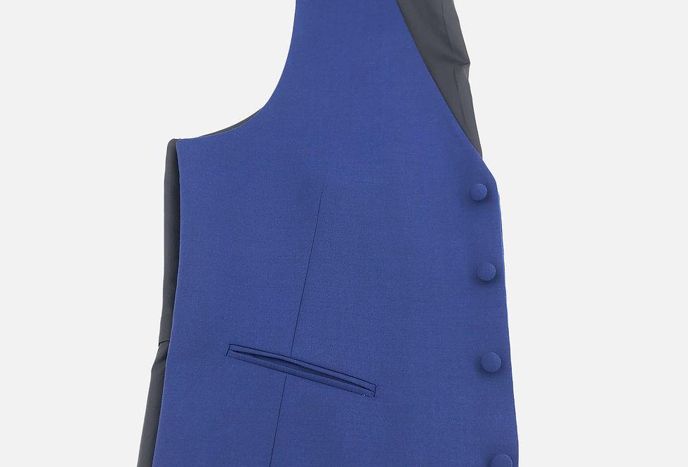 Cobalt  4 Button Vest