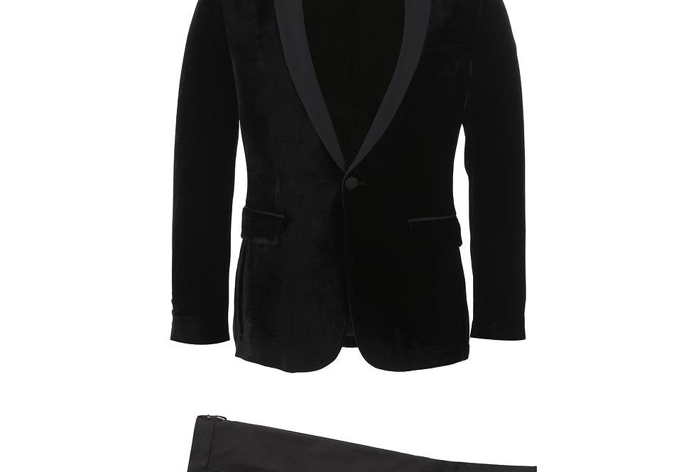 Black Velvet Shawl Tuxedo