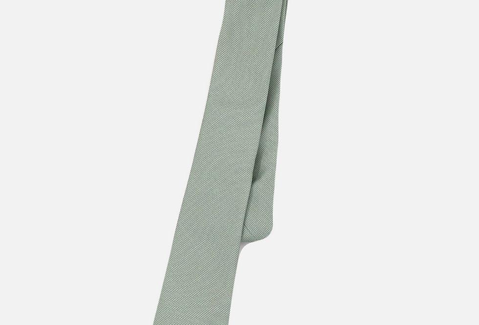 Pin Dot Green Neck Tie