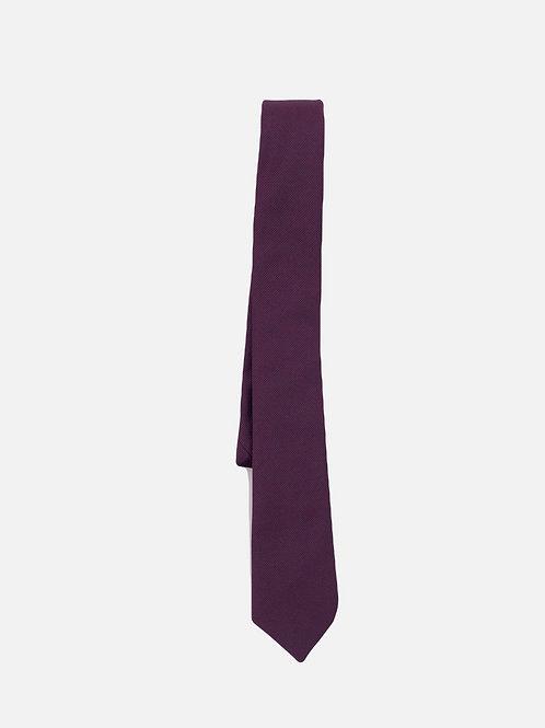 Pin Dot Purple Neck Tie