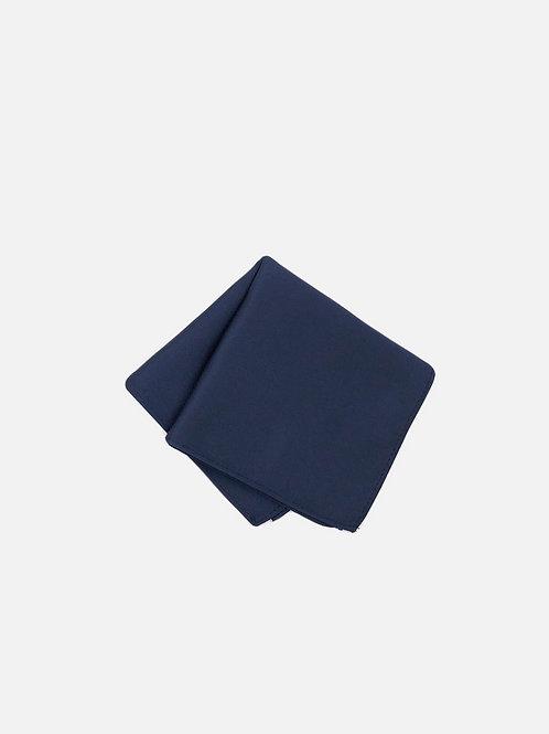 Solid Navy Pocket Square