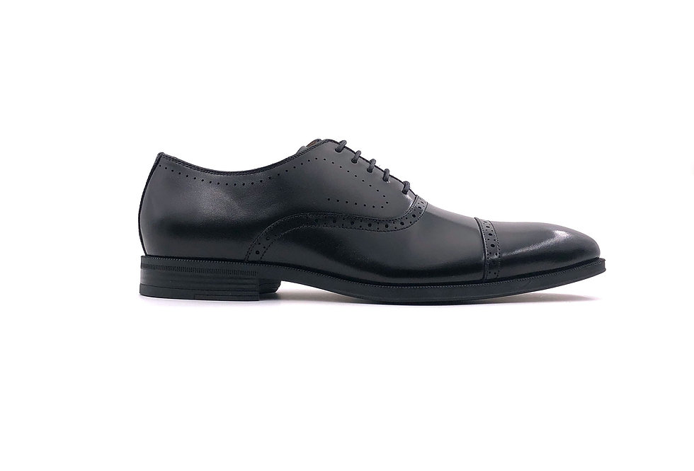 Black Oxford Lace Up