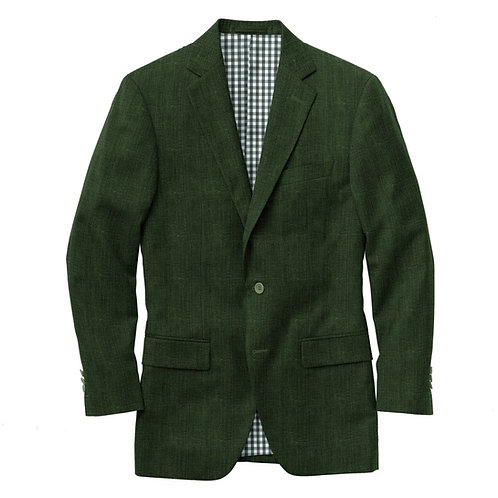Debonair Green Wool Suit