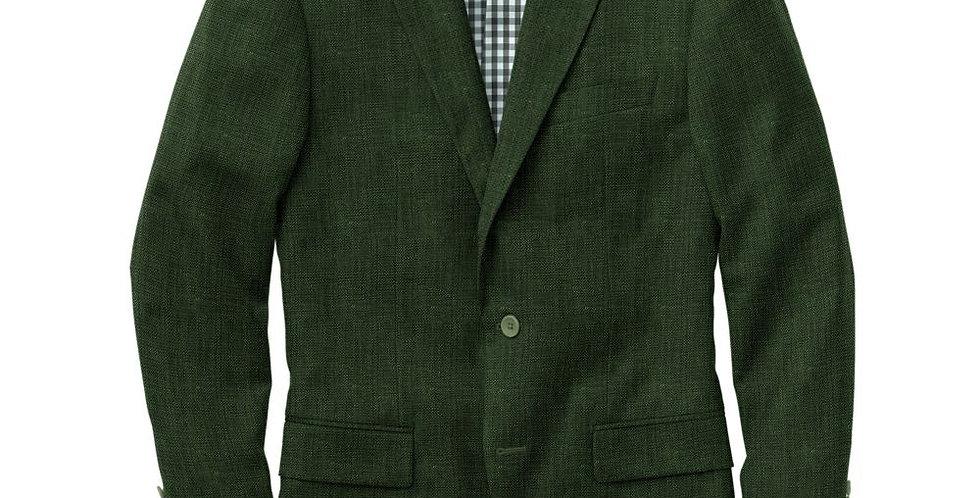 Debonair Green Wool Suit
