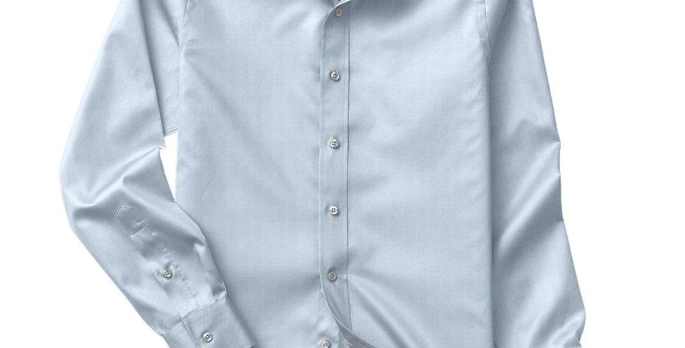 Blue Fine Twill Shirt